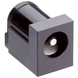Napájecí konektor Lumberg 161321, Rozpínač, zásuvka vestavná horizontální, 6,0/6 mm