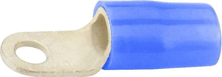 Káblové očko Vogt Verbindungstechnik 3640A, průřez 2.50 mm², průměr otvoru 6.5 mm, čiastočne izolované, modrá, 1 ks