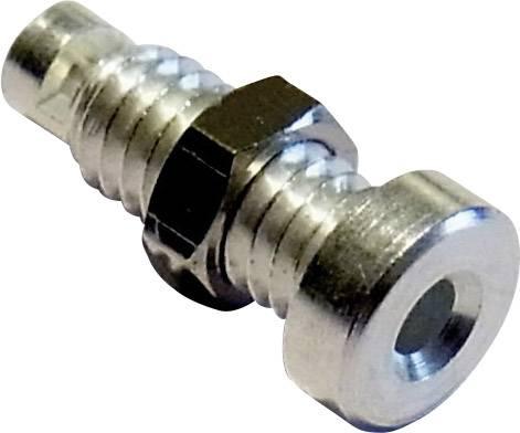 Bezpečnostný konektor Schnepp BU 2100 – zásuvka, vstavateľná vertikálna, Ø hrotu: 2 mm, strieborná, 1 ks