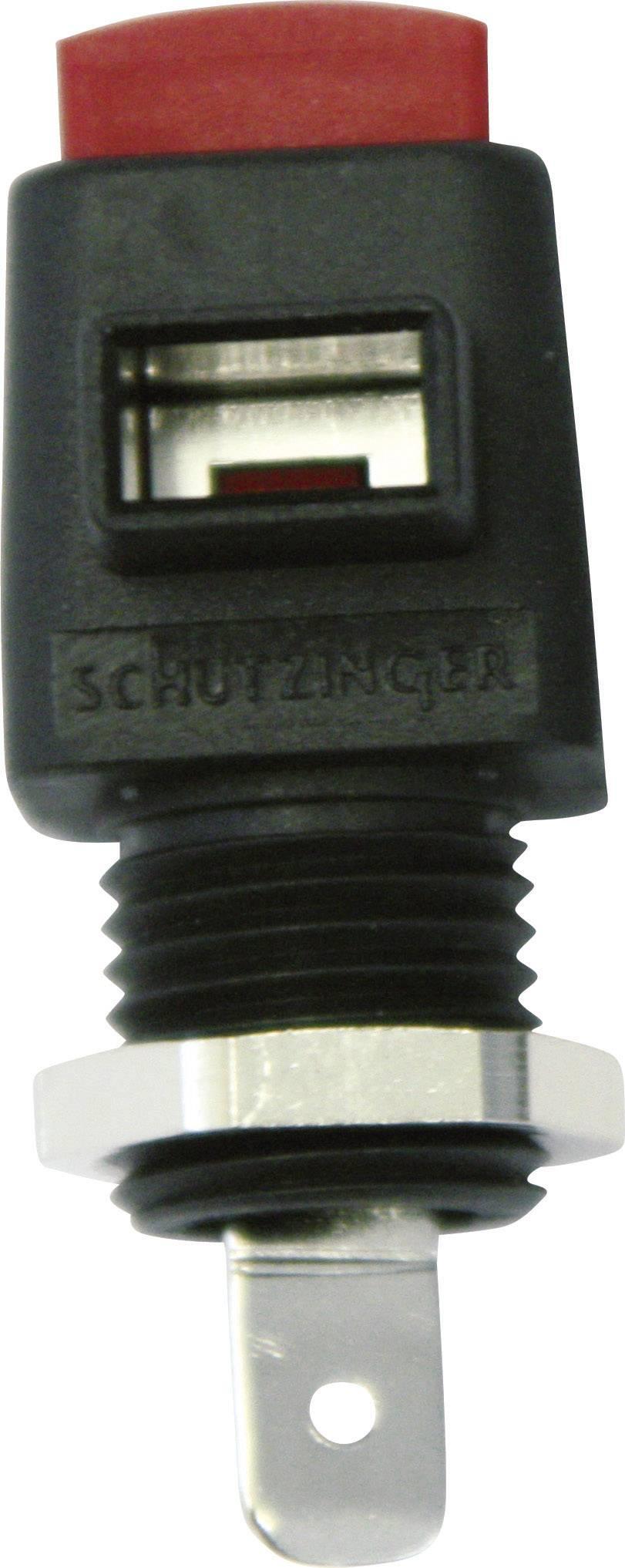 Rychloupínací svorka Schützinger 16 A, zelená, žlutá, 1 ks