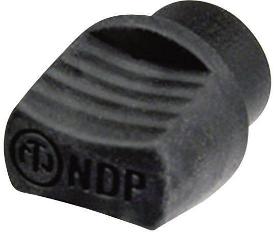 Záslepky Neutrik NDP, čierna, 1 ks