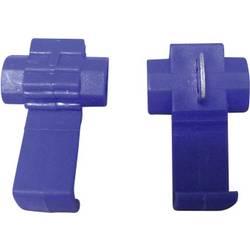 Rychlospojka TRU COMPONENTS pro kabel o rozměru 1-2.5 mm², pólů 2, 5 ks, modrá