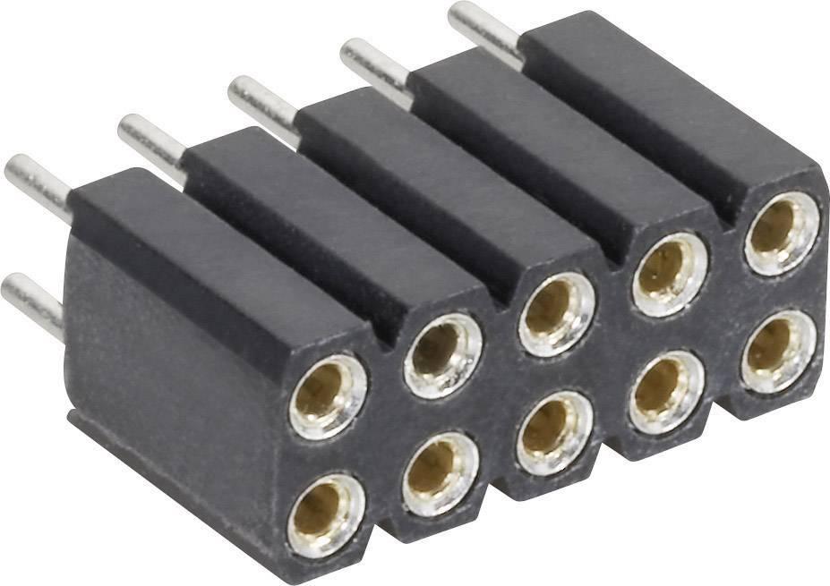 Zásuvková lišta (precízna) MPE Garry 115-3-010-0-MTF-XS0, řádky 2, kontakty na řádek 5, 1 ks