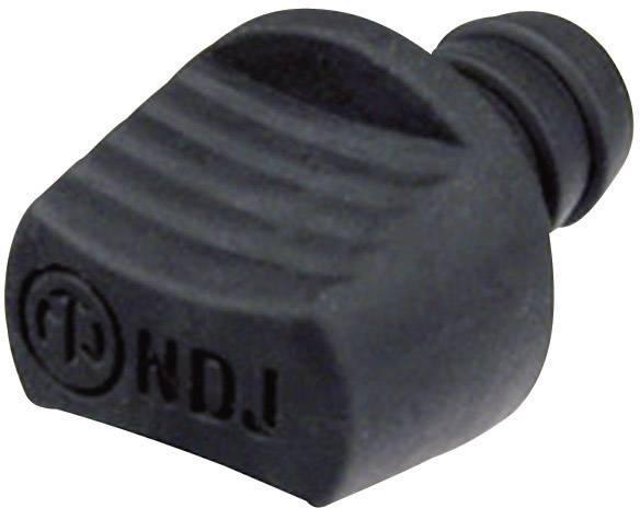 Záslepky Neutrik NDJ, čierna, 1 ks