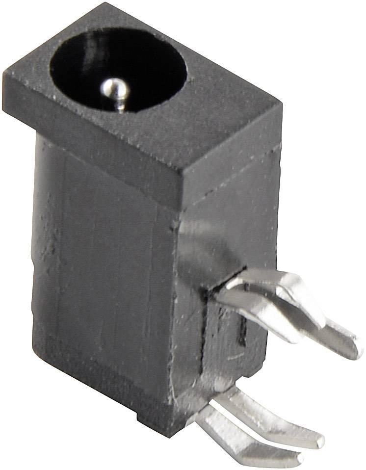 Nízkonapäťový konektor zásuvka, vstavateľná horizontálna Conrad Components 4.2 mm, 1.1 mm, 1 ks