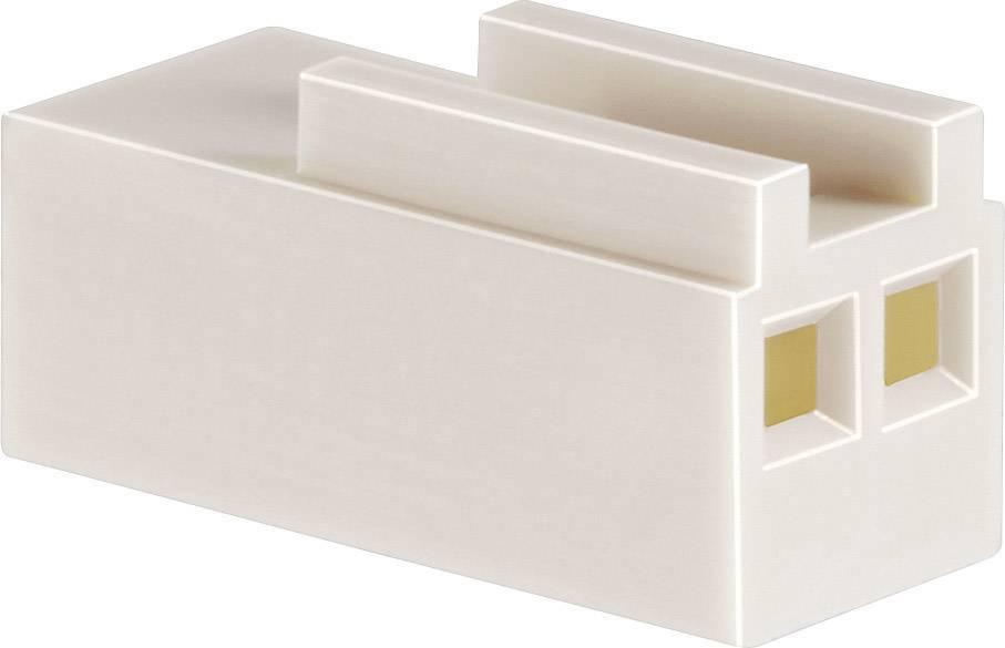 Zásuvkové púzdro na kábel BKL Electronic 072659, počet pólov 4, raster 2.54 mm, 1 ks