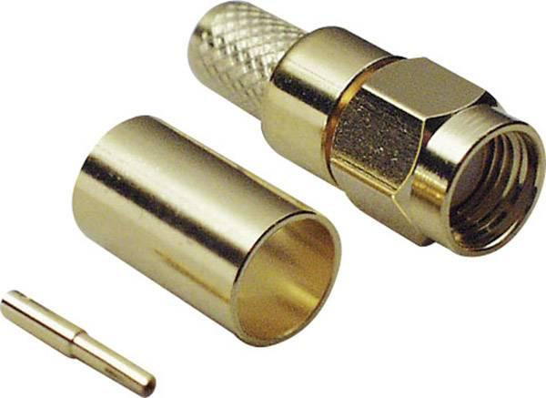 SMA reverzný konektor BKL 419002, 50 Ω, zástrčka