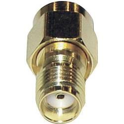 SMA Reverse zástrčka / SMA zásuvka BKL Electronic 419101, 50 Ω, adaptér rovný