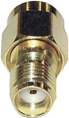 SMA reverzný adaptér SMA spätná zástrčka - SMA zásuvka BKL Electronic 0419101, 1 ks