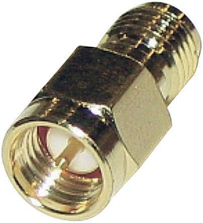 SMA adaptér SMA zástrčka - SMA spätná zásuvka BKL Electronic 0419102, 1 ks