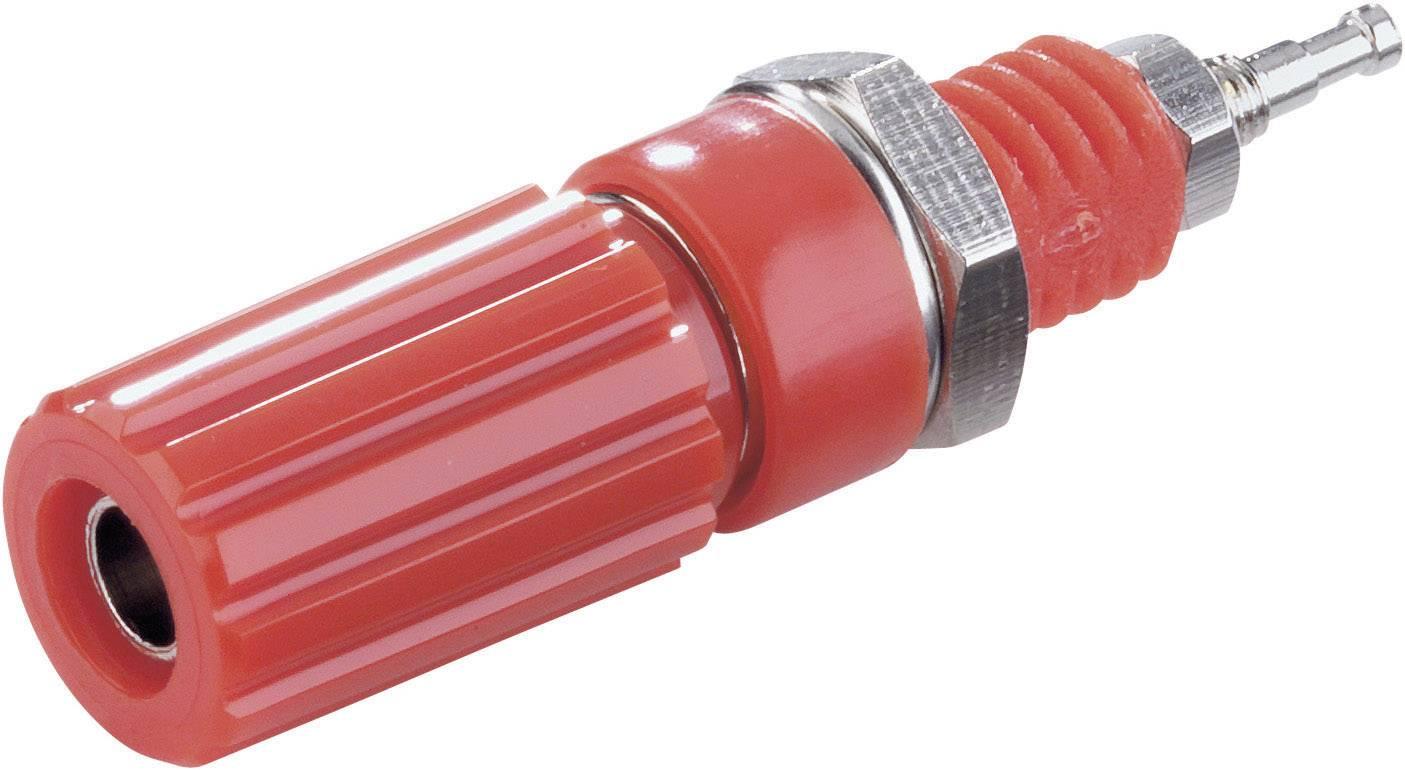 Pólová svorka SCI R1-9 Red, 10 A, červená, 1 ks