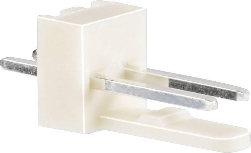 Pinová lišta rovná BKL 72639, 3pól., 2,54 mm, přírodní