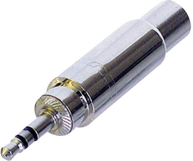 Jack audio adaptér Rean AV NYS227, strieborná