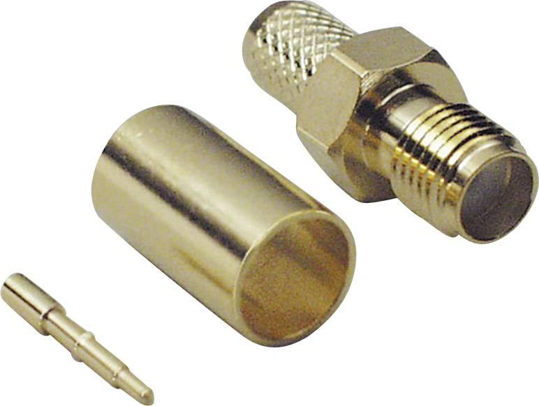 SMA reverzný konektor BKL 419005, 50 Ω, zásuvka