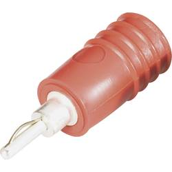 Adaptér 2/4 mm Schnepp ÜS 2040 (ÜS 2040 rt), PVC, rovný, červená