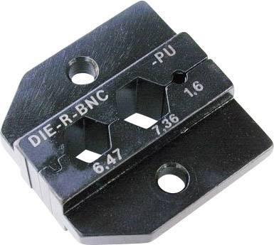 Krimpovacia sada Neutrik DIE-R-BNC-PU, čierna, 1 ks
