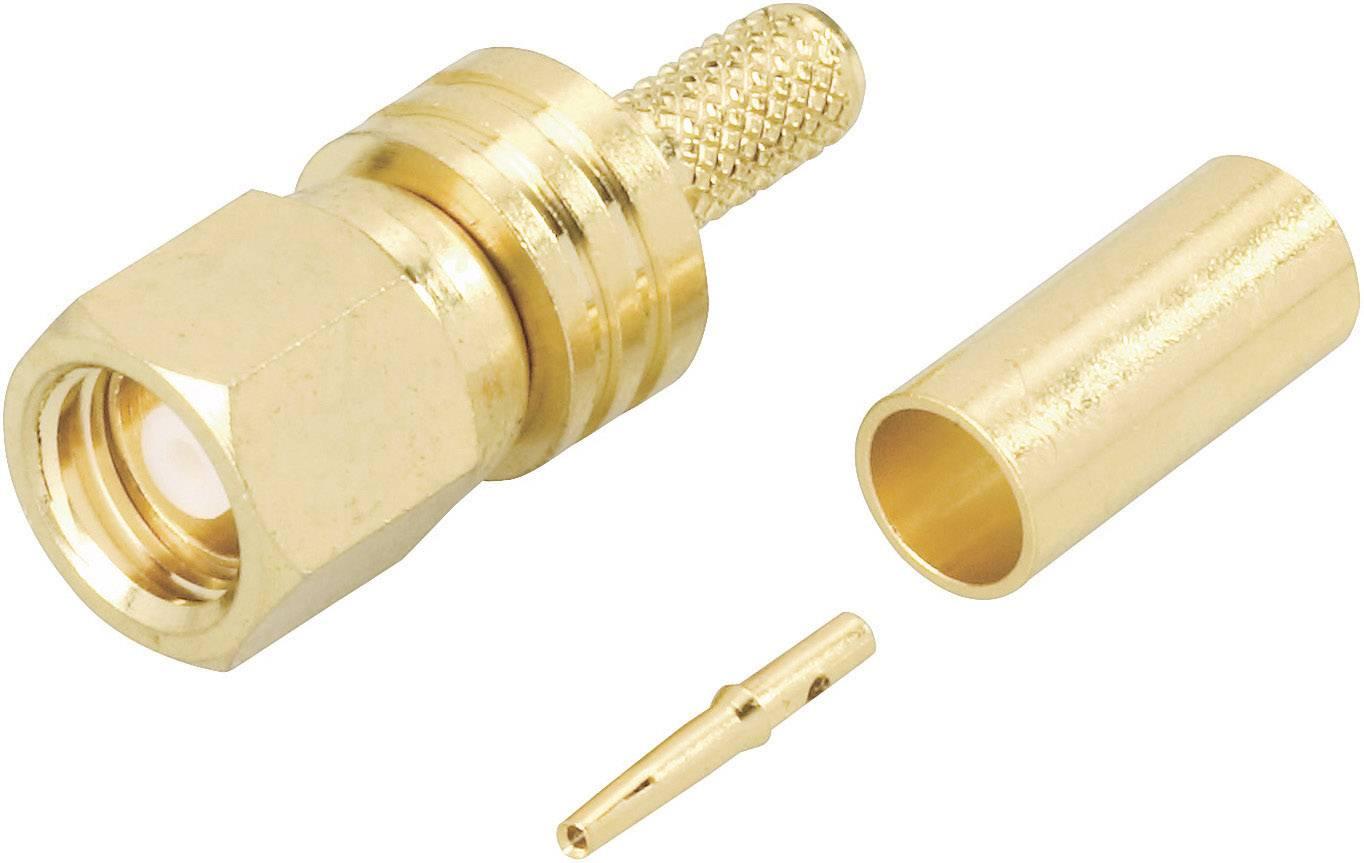 SMC propojka BKL Electronic 414000, 50 Ω, zástrčka rovná