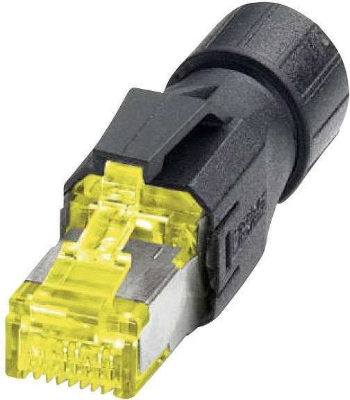 Dátový zástrčkový konektor pre senzory - aktory Phoenix Contact VS-08-RJ45-10G/Q 1419001, 1 ks