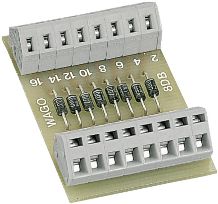 Open diode gate with 8 diodes WAGO obsahuje: 1 ks