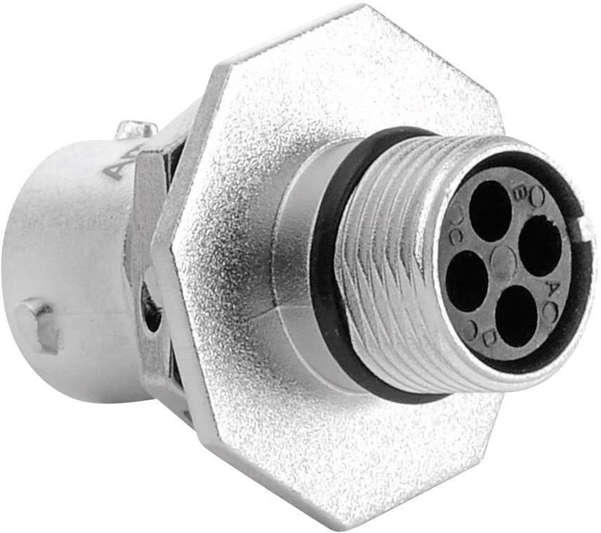 Přístrojový konektor série RT360™ Amphenol RT0710-4PNH 13 A, poniklovaný, 1 ks