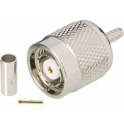 Konektor TNC Reverse BKL Electronic 419400, 50 Ω, zástrčka rovná