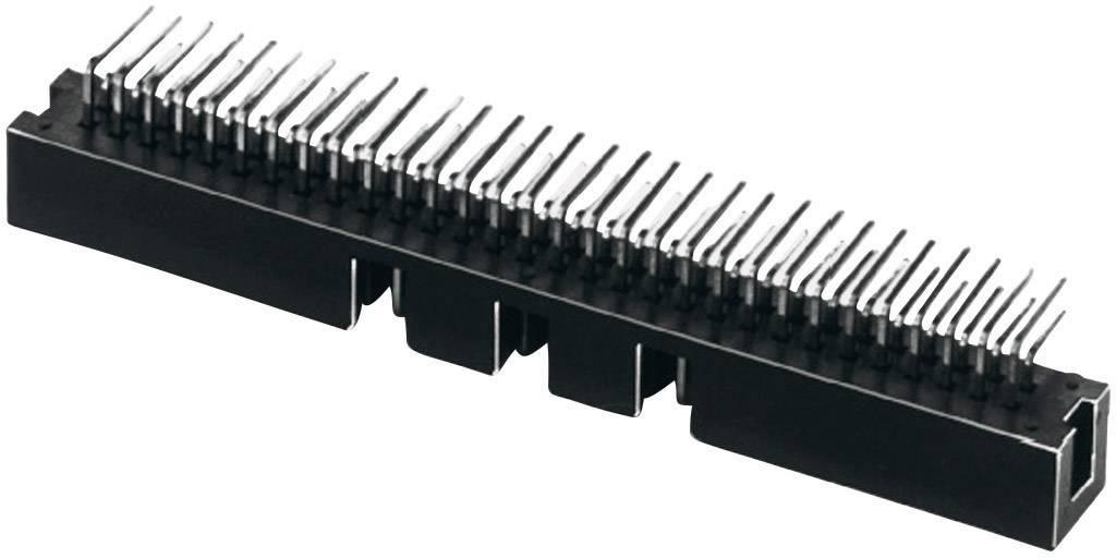 Kolíková lišta W & P Products 137-06-2-00-2, rastr (rozteč) 2.54 mm, počet pólů: 6, 1 ks