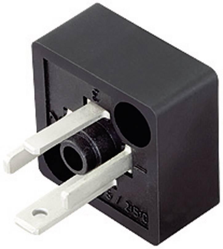Magnetická ventilová propojka Binder 43-1907-000-04, černá