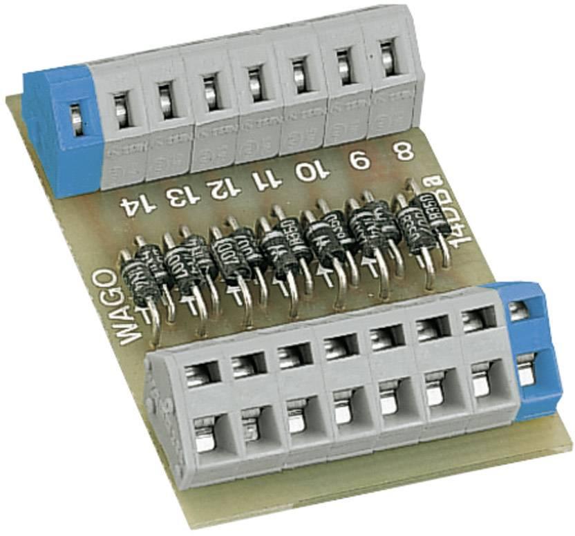 Polarized diode gate with 14 diodes WAGO obsahuje: 1 ks