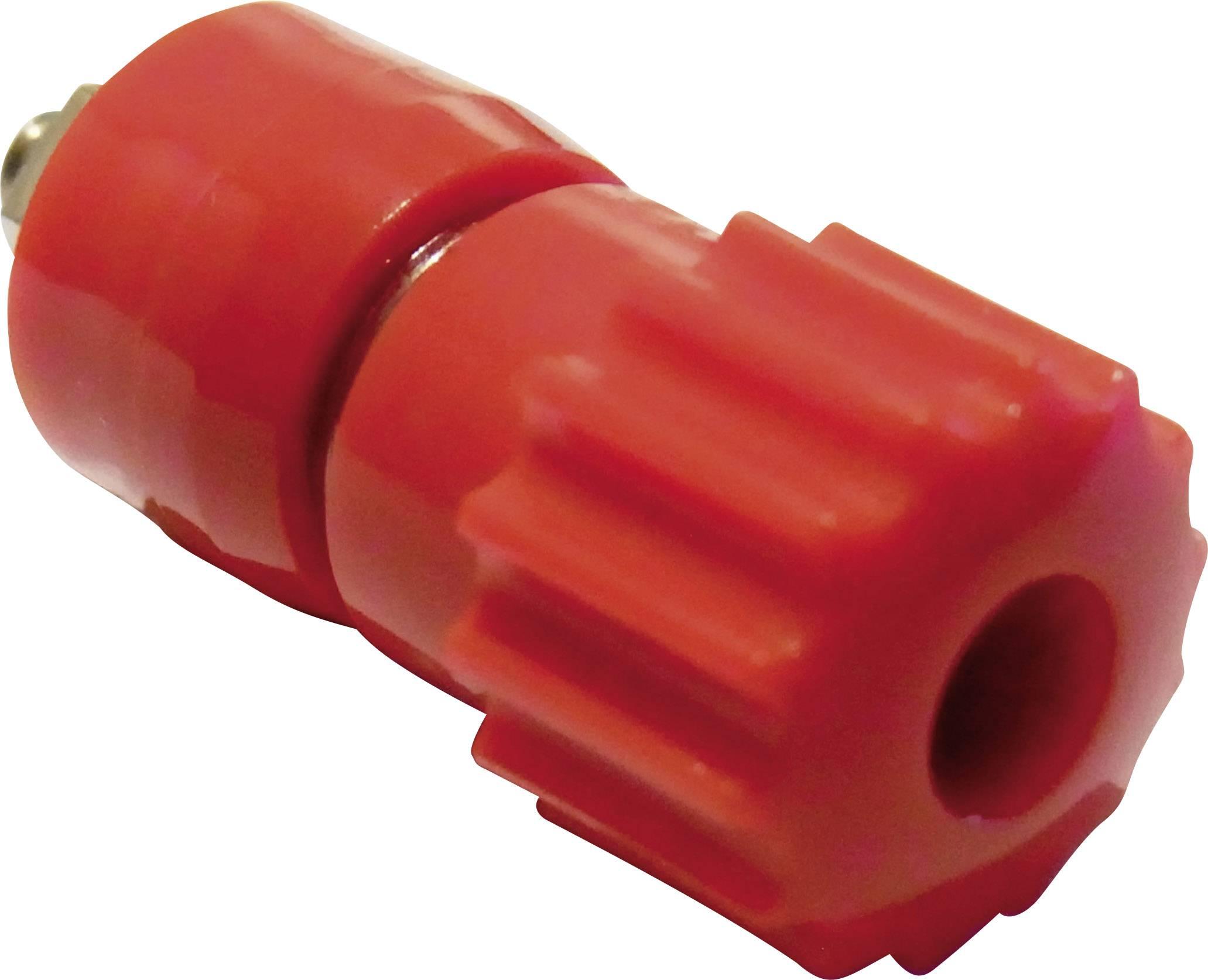 Pólová svorka Schnepp 16 A, červená, 1 ks