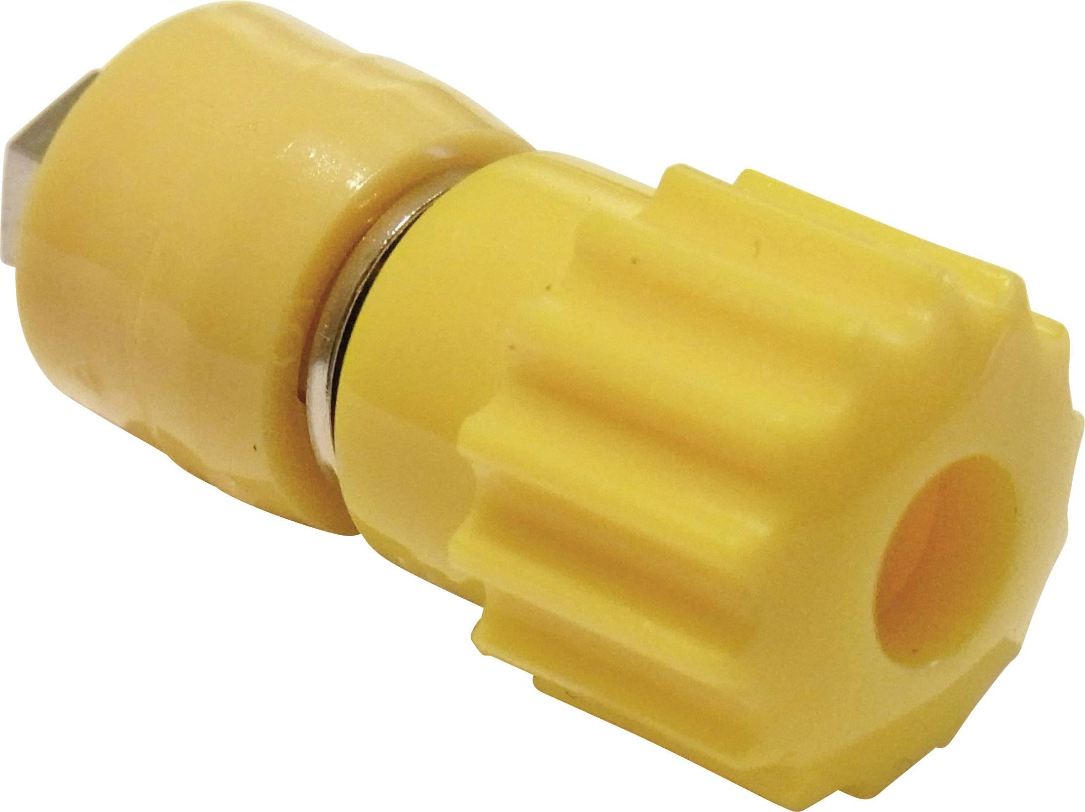 Pólová svorka Schnepp 16 A, žltá, 1 ks