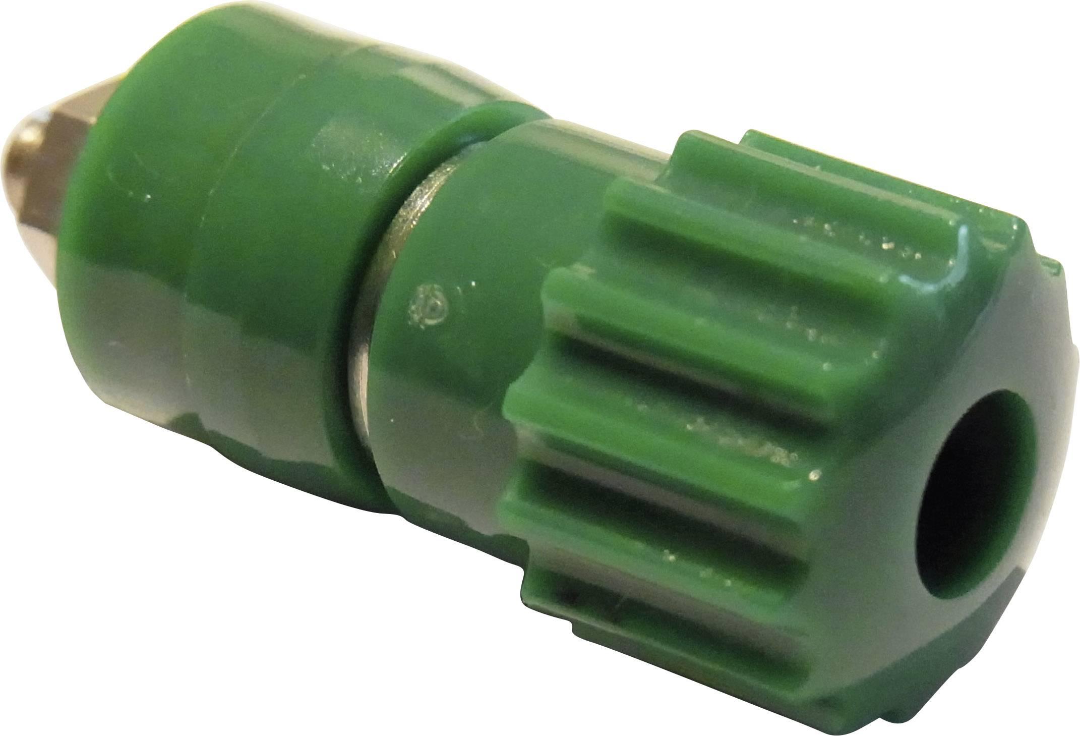 Pólová svorka Schnepp 16 A, zelená, 1 ks