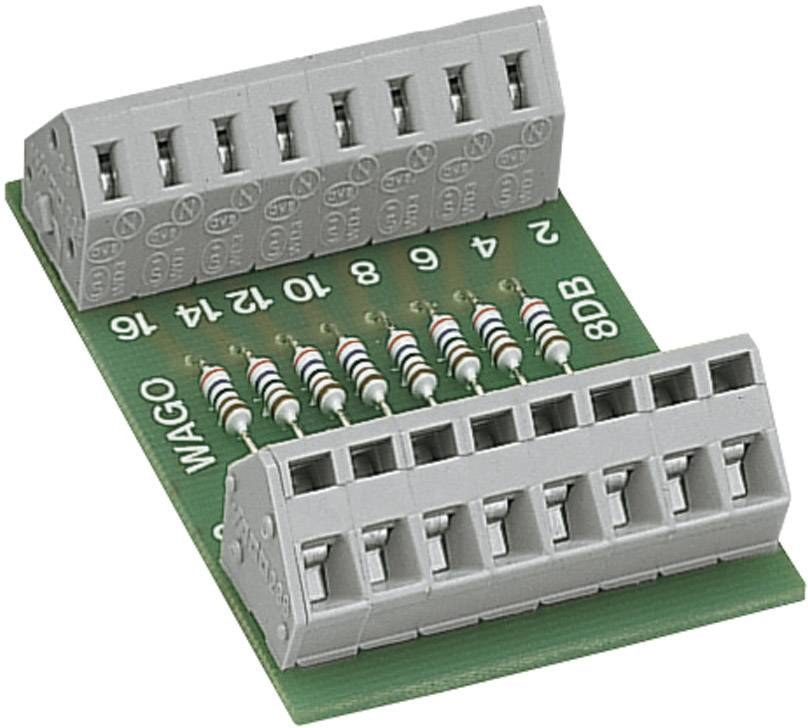 Modul odporové sítě WAGO 289-114, 8x 2K7, 0,4 W