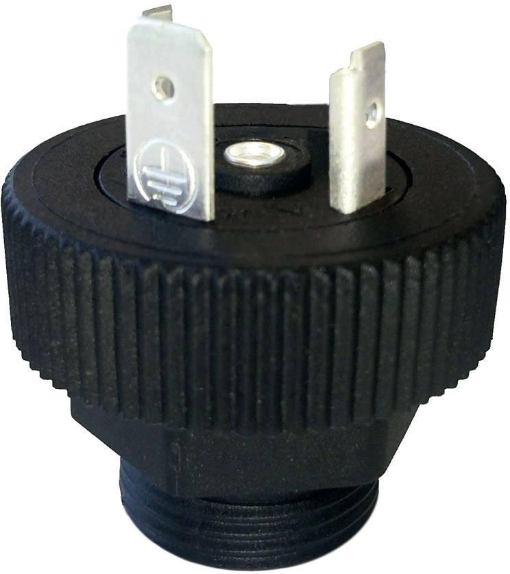Ventilový konektor HTP BGRN02000-PG11, IP67 (namontované), černá