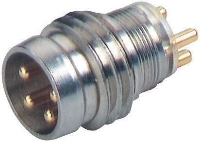 Přístrojový konektor Hirschmann ELST 4408 RV KM (933 393-001), 0.25 mm², IP67/IP68