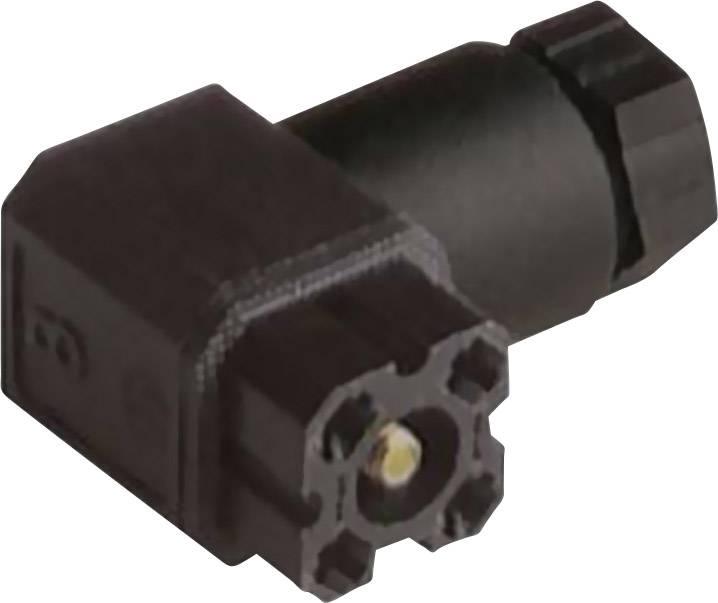 Propojka pro řídicí napětí Hirschmann G 4 W 1 F (932 157-100), černá