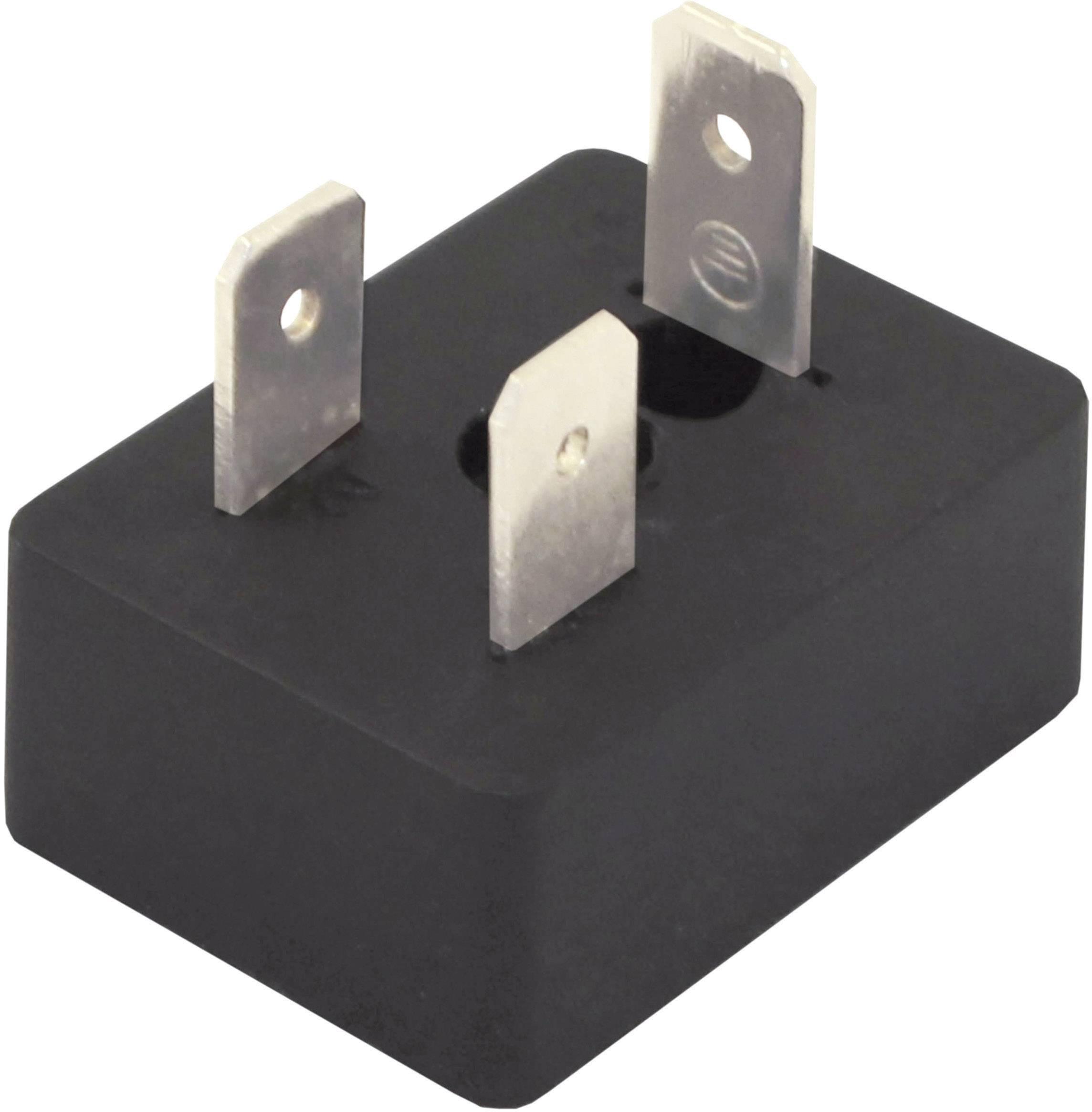 Ventilový konektor HTP BM1N02000, IP65 (namontované), černá