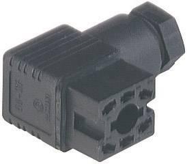 Napájecí prům. konektor M16 Hirschmann GO 60 WF (932 448-100), Pájení, černá