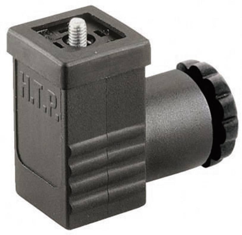Ventilový konektor HTP P1NZ3000-H (P1NZ3000), IP65 (namontované), černá