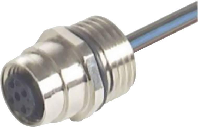 Zabudovateľný zástrčkový konektor Hirschmann EF12M4FIXAU 933039200, 1 ks