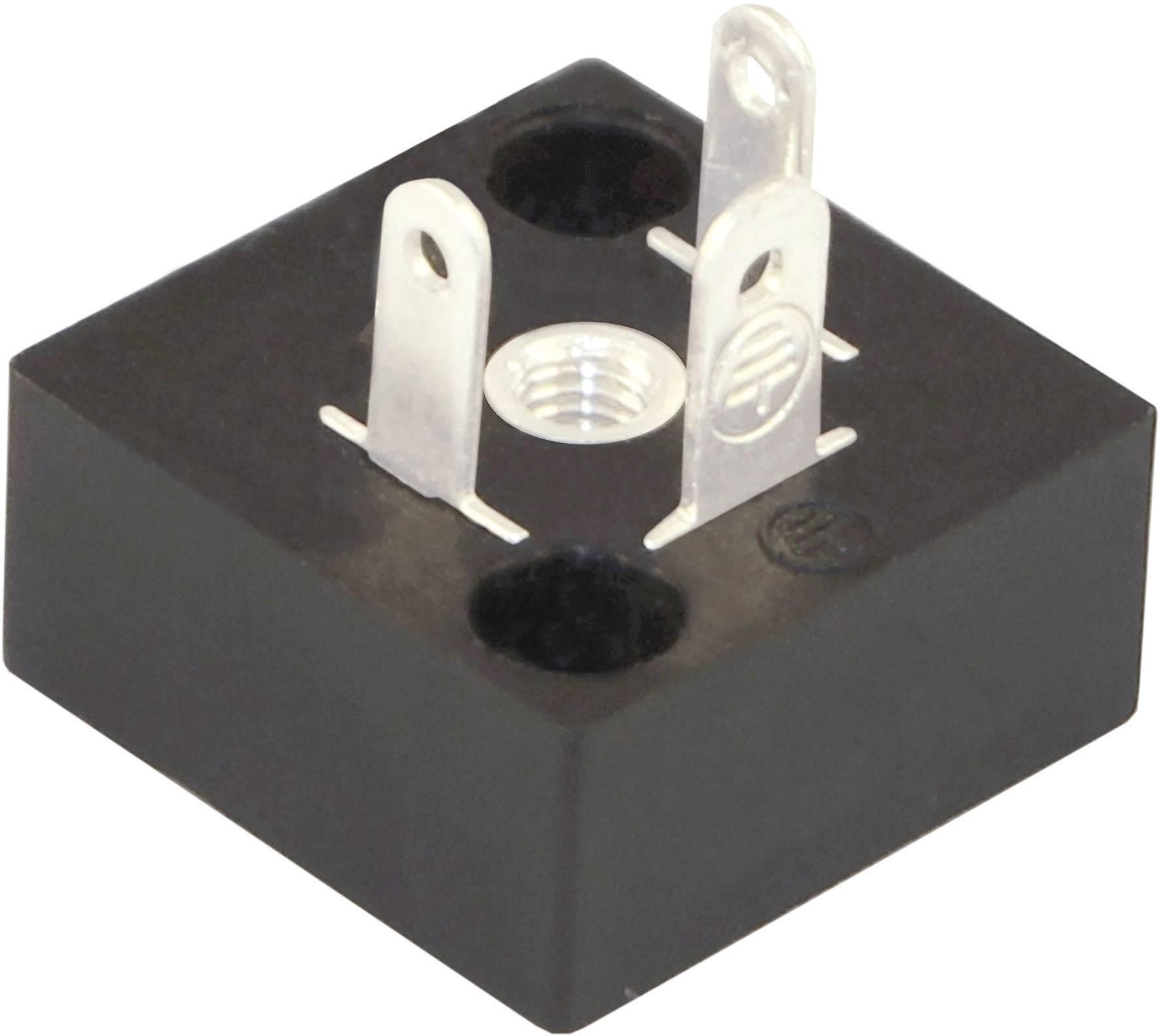 Ventilový konektor HTP BP1N02000, IP67 (namontované), černá