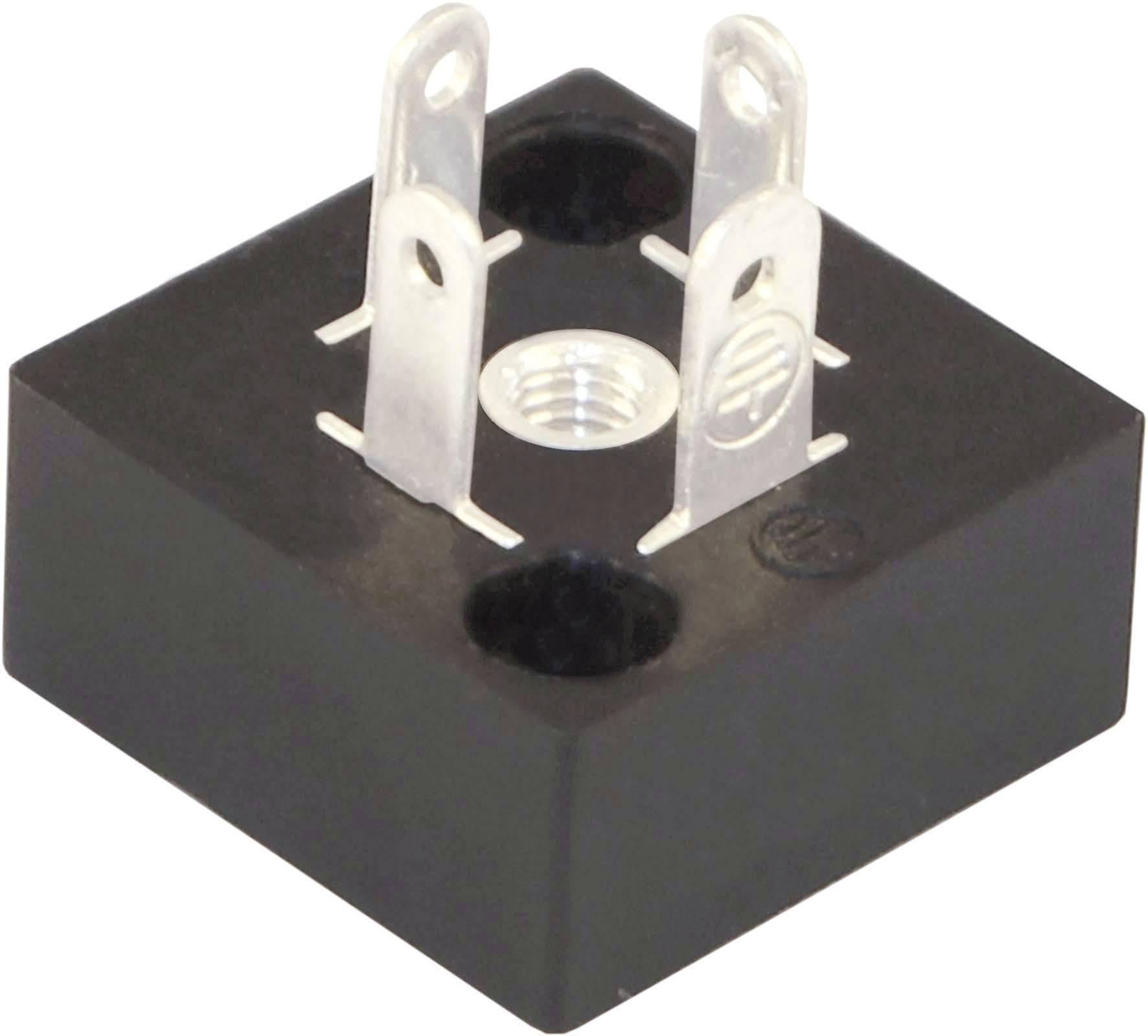 Ventilový konektor HTP BP1N03000, IP67 (namontované), černá