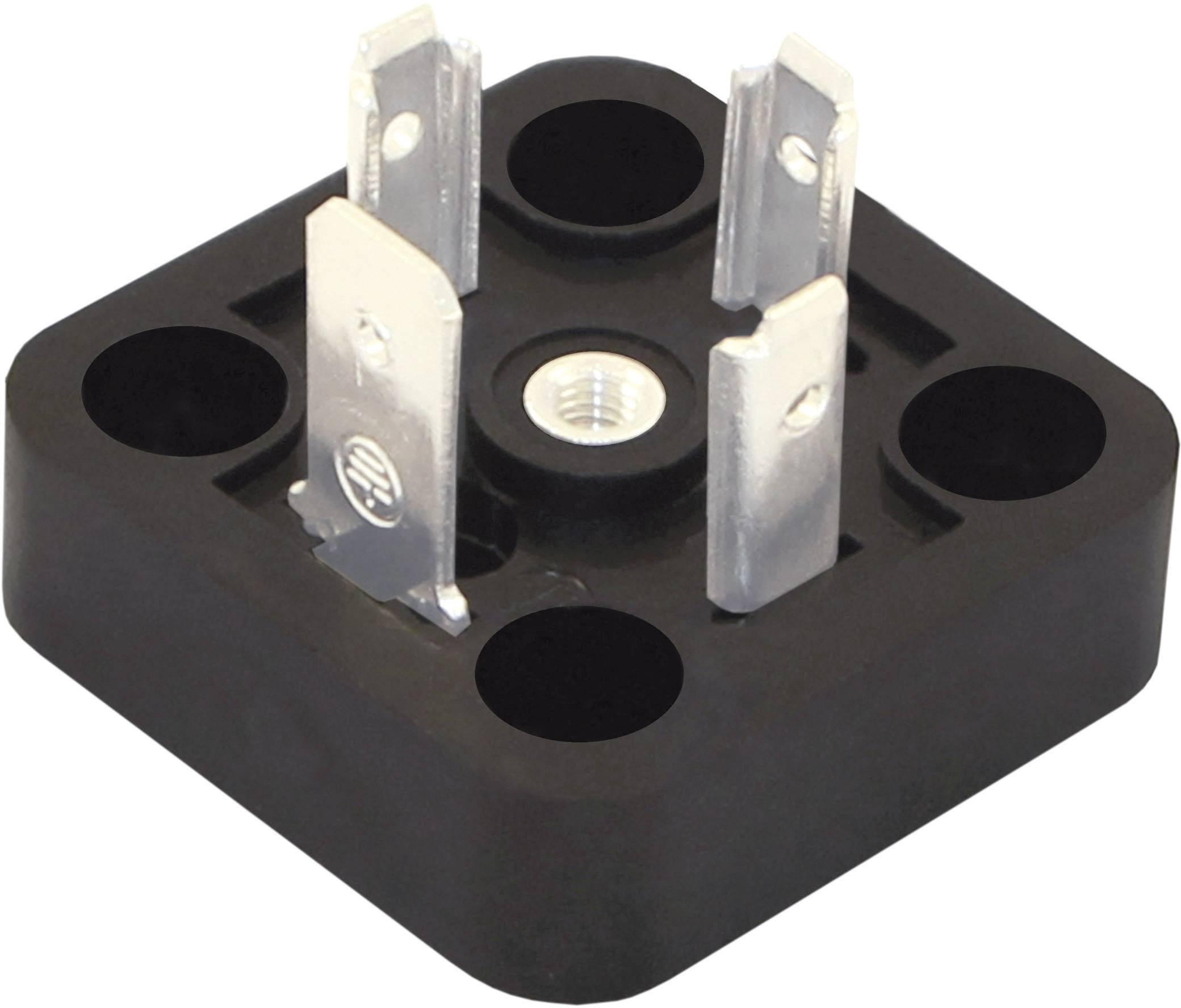 Ventilový konektor HTP BG1N02000-HT, IP67 (namontované), černá