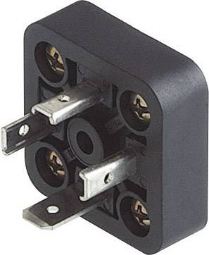 Konektor série GMD Hirschmann GSA-U 3000 N LO (933 379-100), Pájený přívod, černá