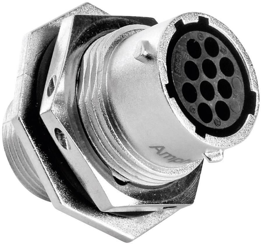 Přístrojová zásuvka - série RT360™ Amphenol RT0712-10SNH 5 A, poniklovaný, 1 ks