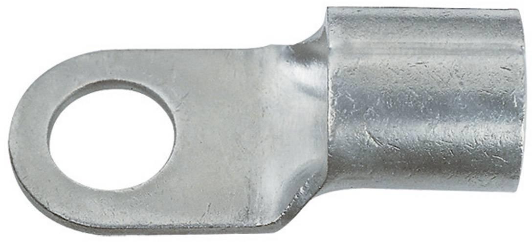 Káblové očko Klauke 16528 16528, průřez 10 mm², průměr otvoru 8.4 mm, neizolované, kov, 1 ks