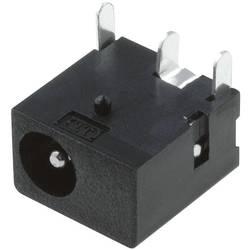 Napájecí konektor Cliff FC68145, zásuvka vestavná horizontální, 4 mm