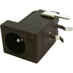 Napájecí konektor Cliff FCR681465P (FC681465P), zásuvka vestavná horizontální, 4 mm