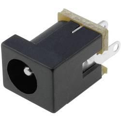 Napájecí konektor Cliff FC68146, zásuvka vestavná vertikální, 4 mm