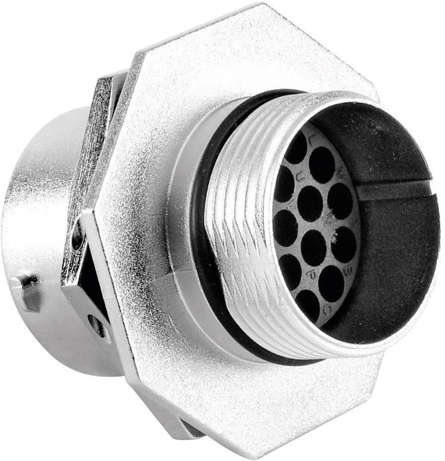 Přístrojová zásuvka - série RT360™ Amphenol RT0716-19SNH 13 A, poniklovaný, 1 ks