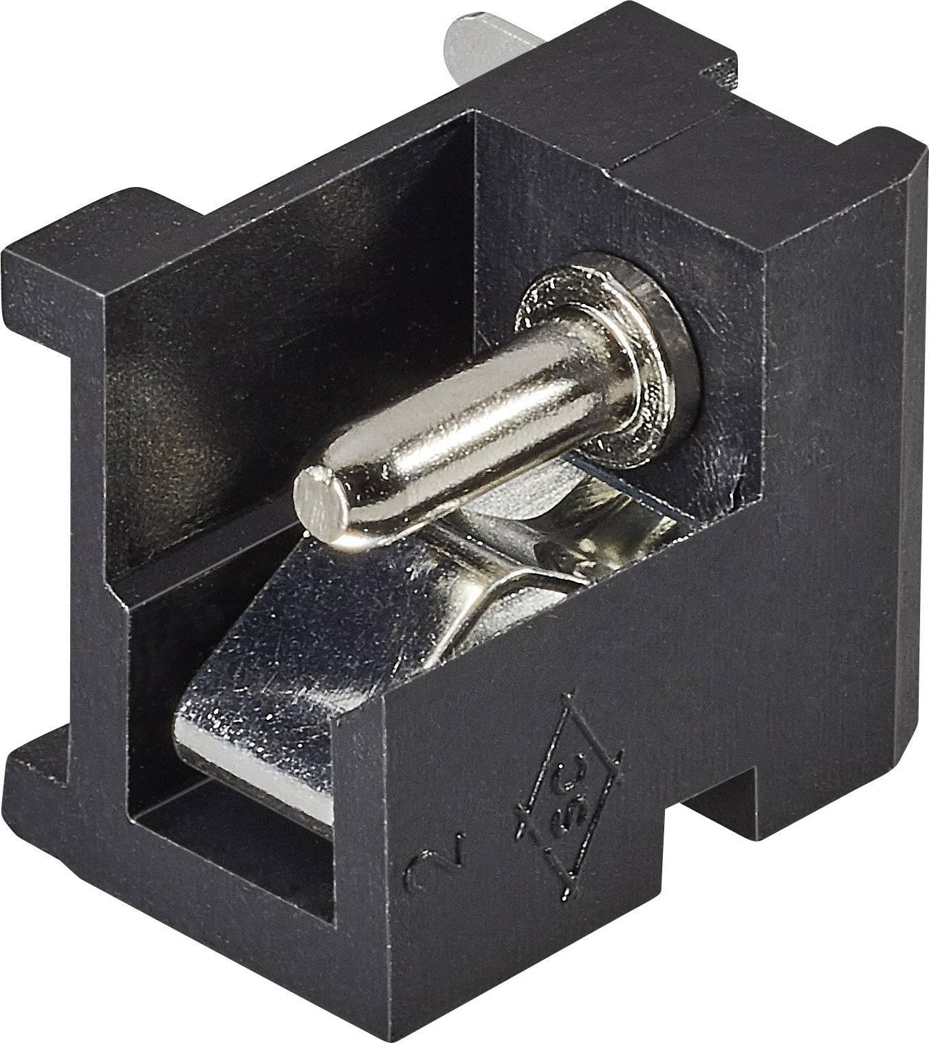 Napájecí konektor Cliff FC681485, zásuvka vestavná horizontální